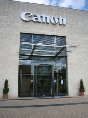 Canon UK HQ in Surrey
