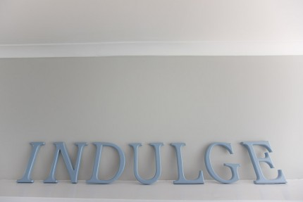 Indulge letters