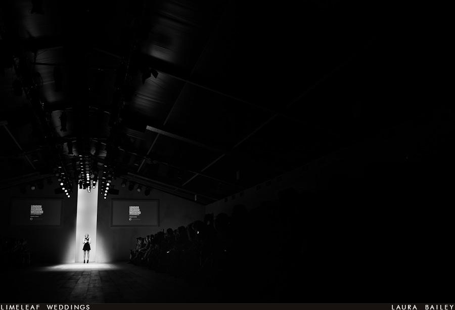 Caroline Flack presents London Fashion Week 2012