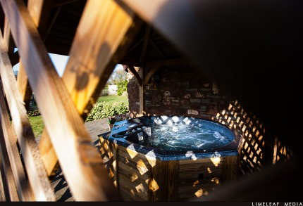 The Long Barn Jacuzzi