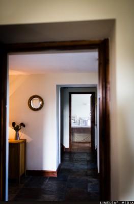 Somerset Long Barn hallway