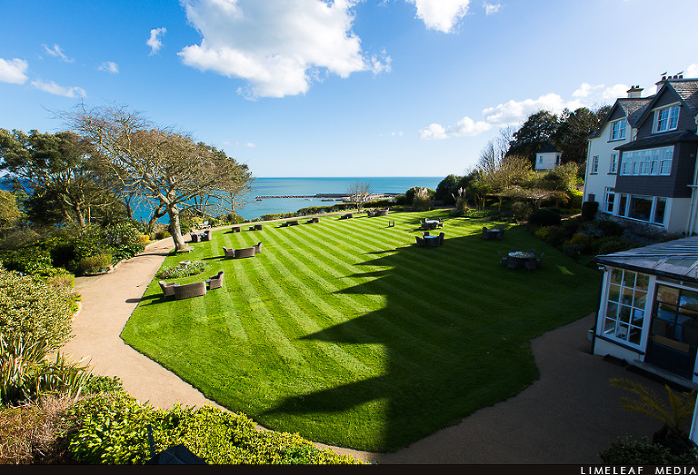 Alexandra hotel back garden