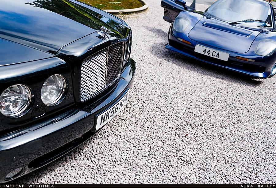 Hillbark Hotel Cars on Drive