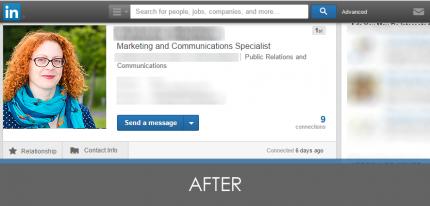 LinkedIn headshot Photography