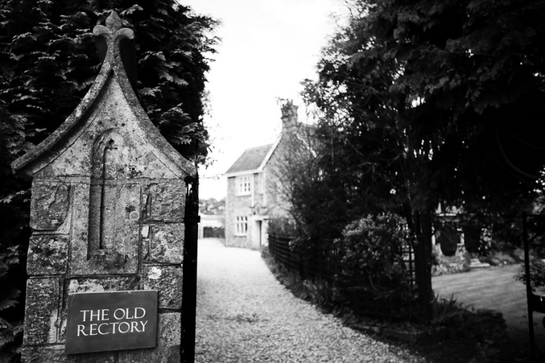 The Old Rectory sign